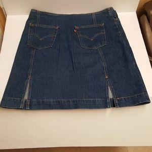 Levi's Slit Skirt